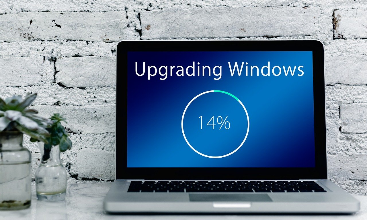 upgrade, windows, laptop